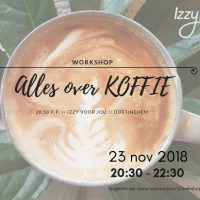 Koffie workshop // 23 nov
